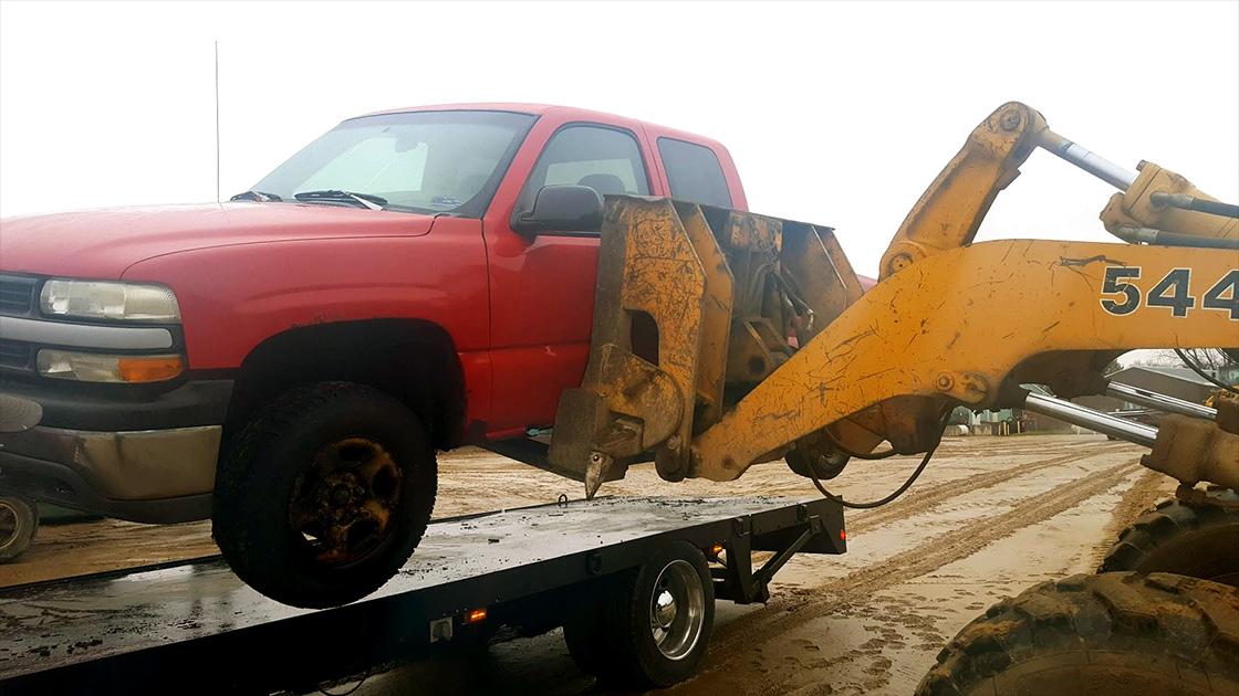 Kadingers Scrap Vehicle